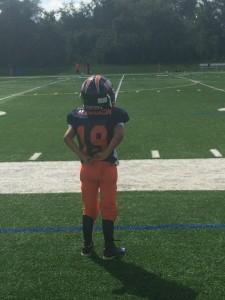 My heart belongs to a football player.....
